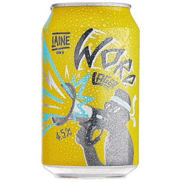 Laine Word Lager  Cans