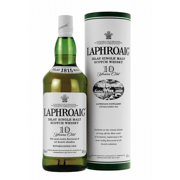 Laphroaig 10 Year Old Malt Whisky