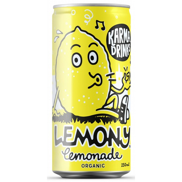 Karma Drinks Lemony Lemonade Cans