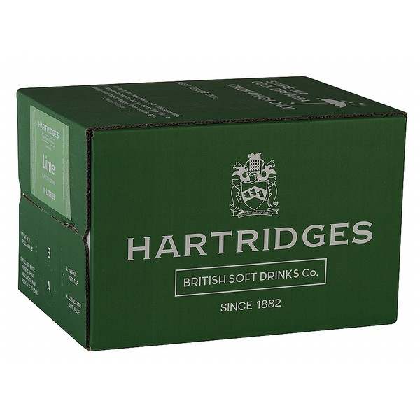 Hartridges Lime Cordial  BIB