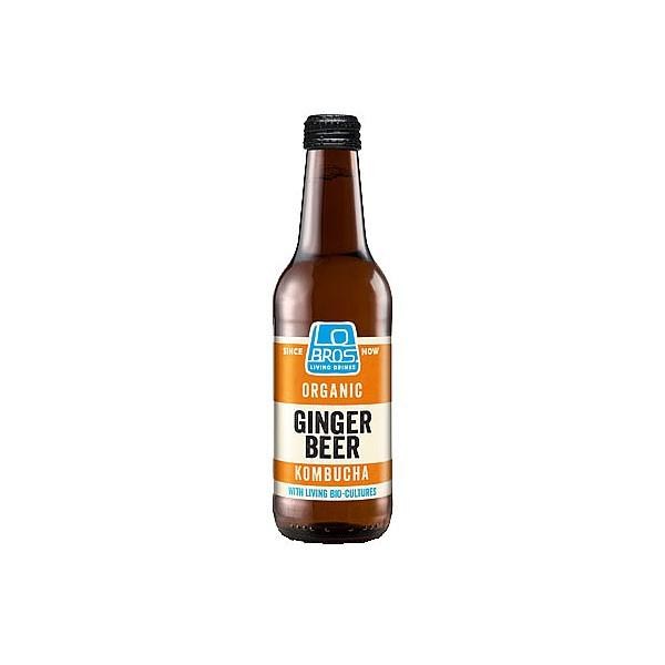 Lo Bros Ginger Beer Kombucha