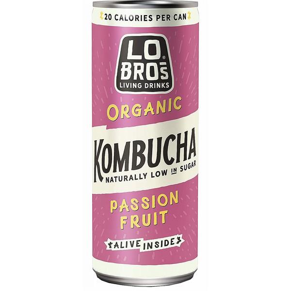 Lo Bros Passionfruit Kombucha
