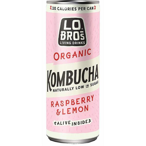 Lo Bros Raspberry & Lemon Kombucha