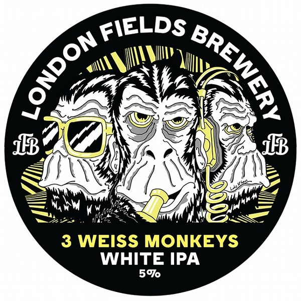 London Fields 3 Weiss Monkeys