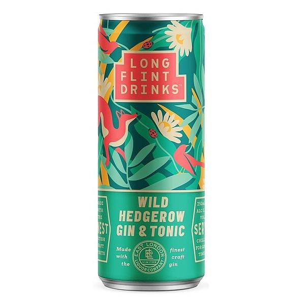 Longflint Wild Hedgerow Gin & Tonic