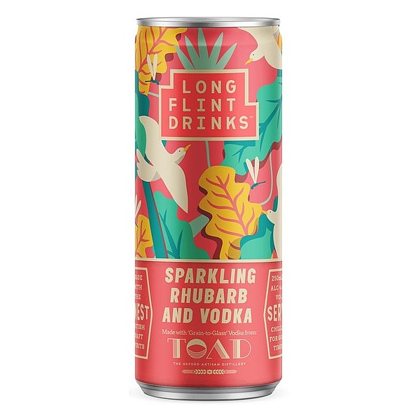 Longflint Sparkling Rhubarb & Vodka