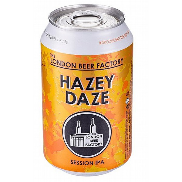 London Beer Factory Hazey Daze Cans