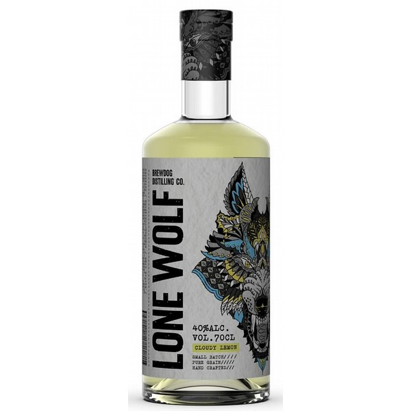 Lone Wolf Cloudy Lemon Gin