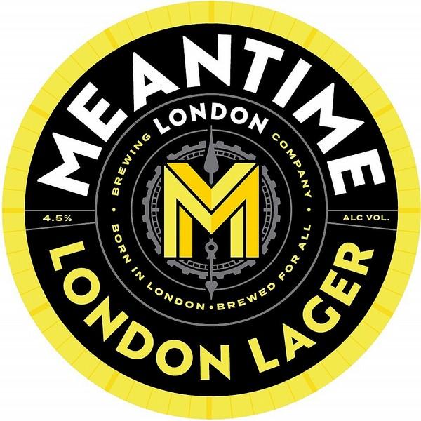 Meantime London Lager Rnd Fish Eye