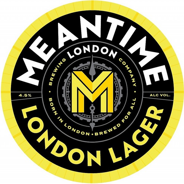 Meantime London Lager Oval Fish Eye
