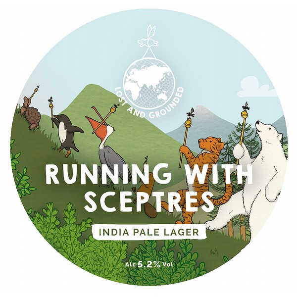 Lost and Grounded Running with Sceptres