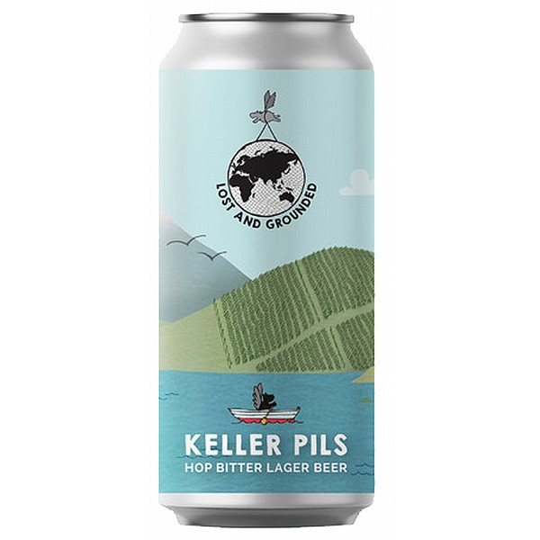 Lost and Grounded Keller Pils Cans