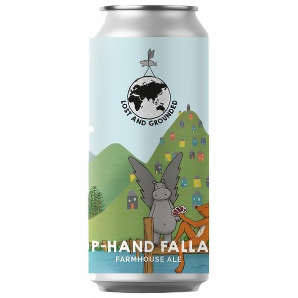 Lost and Grounded Hop Hand Fallacy  Cans