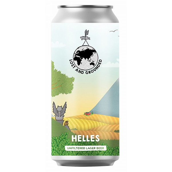 Lost & Grounded Helles Cans
