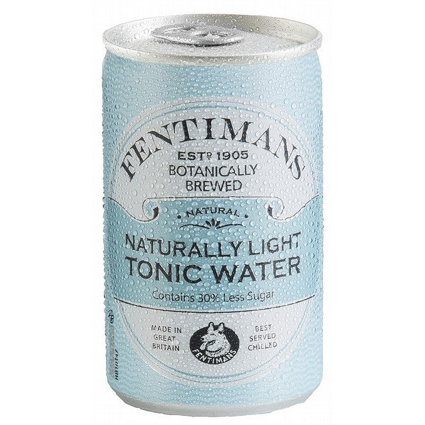 Fentimans Naturally Light Tonic Cans