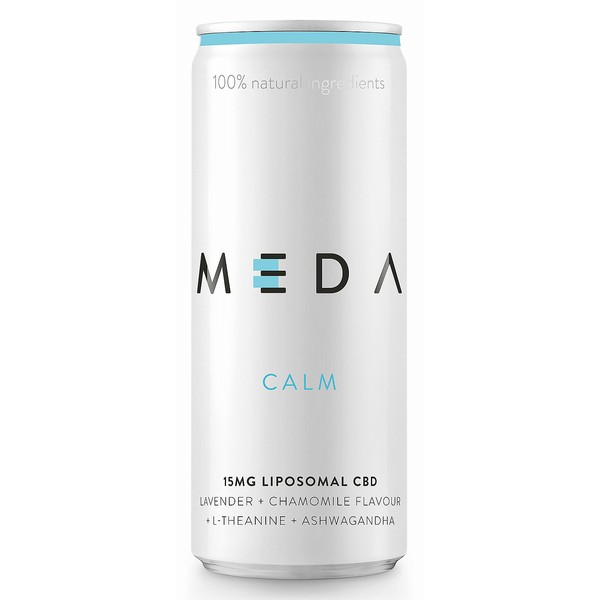 MEDA Calm Botanical Cans - CBD Infused