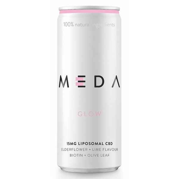 MEDA Glow Elderflower & Lime - CBD Infused