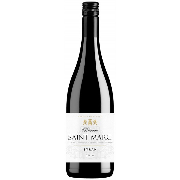 Reserve Saint Marc Syrah, VdP d'Oc