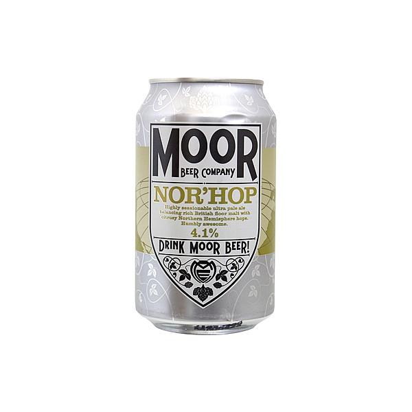 Moor Nor'Hop Ultra Pale Ale Cans