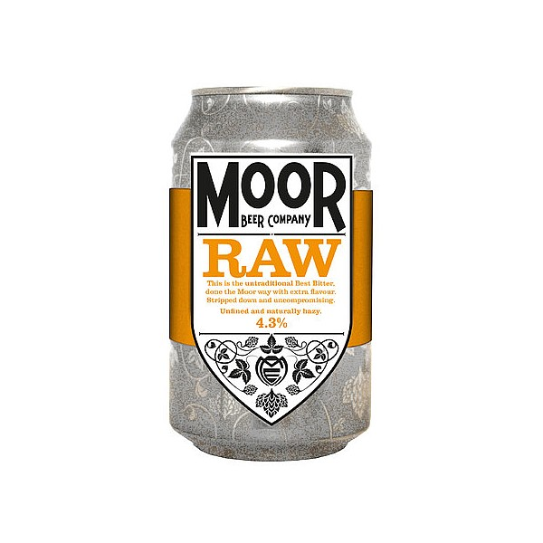 Moor RAW Bitter Cans