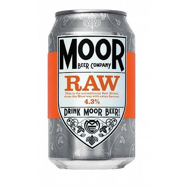 Moor Raw Best Bitter Cans