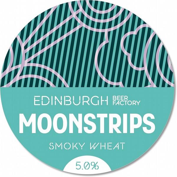 EBF Moonstrips Smoky Wheat Round Badge