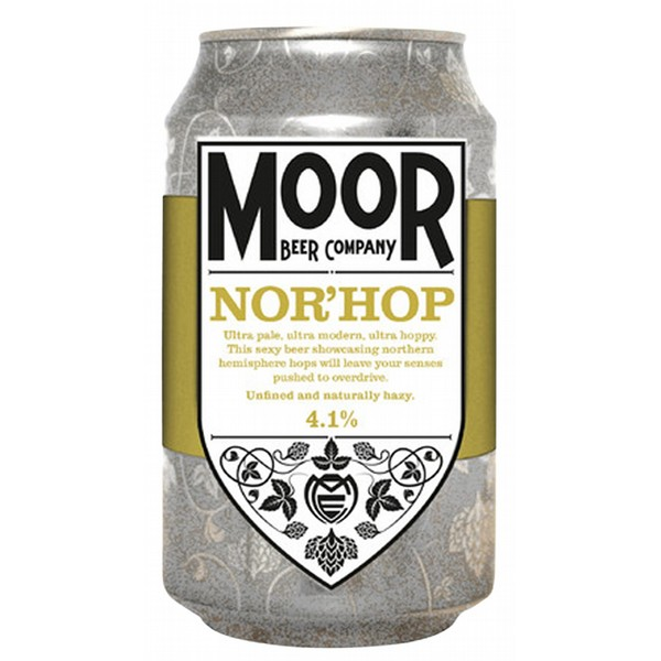 Moor Nor'Hop Ultra Pale Ale Cans