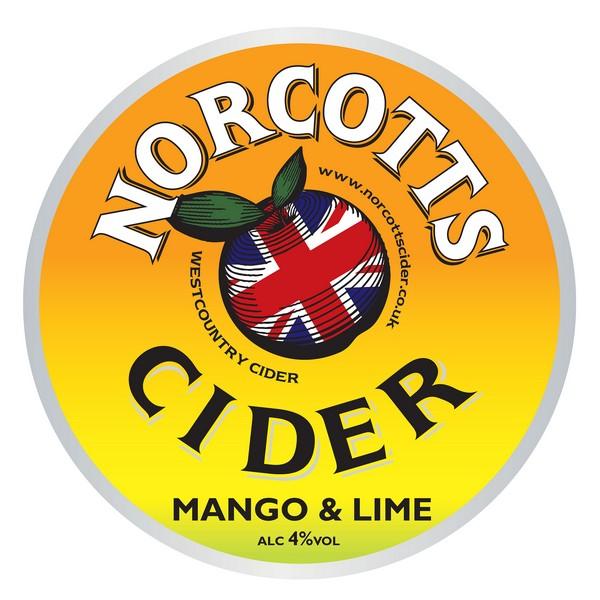 BIB Norcotts Mango & Lime Cider
