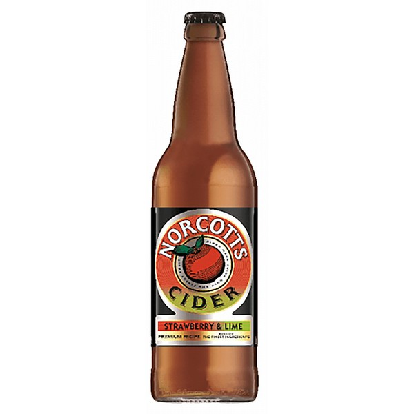 Norcotts Strawberry and Lime Cider