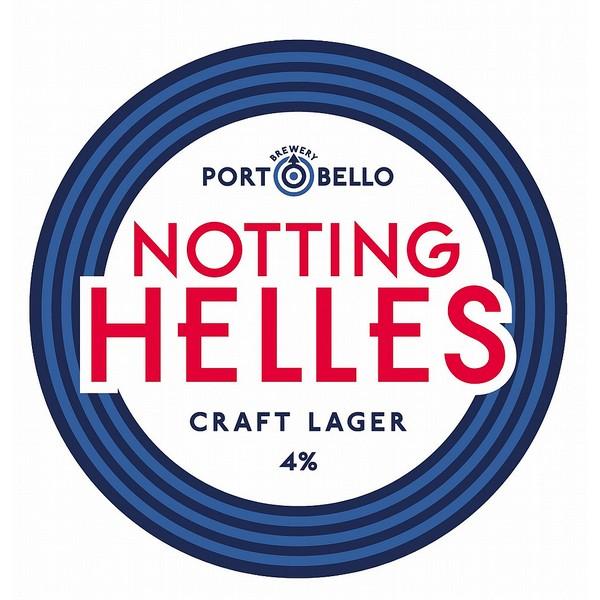 Portobello Brewing Notting Helles