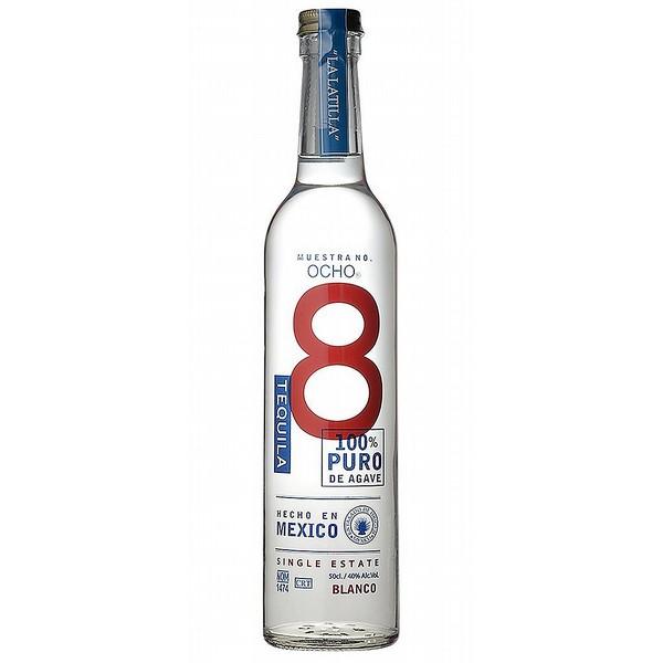 Ocho Blanco 100% Agave Tequila