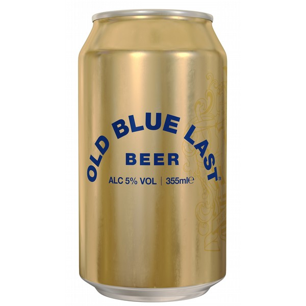 Old Blue Last Cans