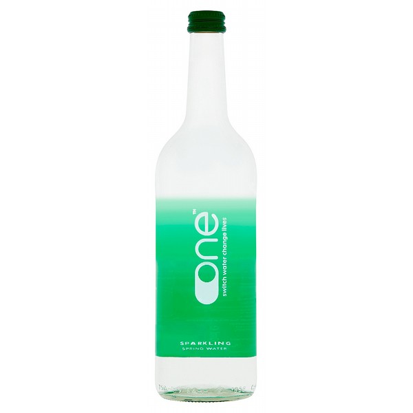One Water Sparkling 75cl Glass