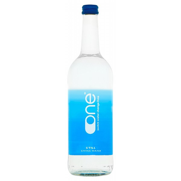 One Water Still Glass