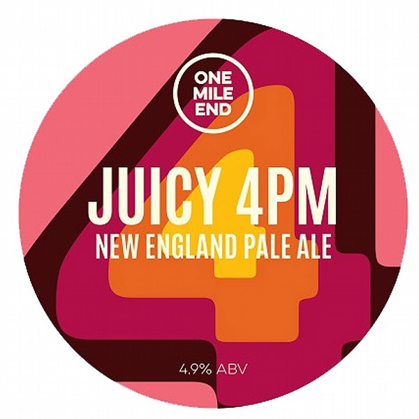 One Mile End Juicy 4PM Pale Ale