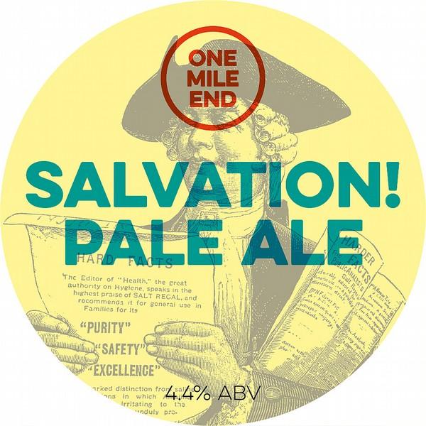 One Mile End Salvation! Pale Ale