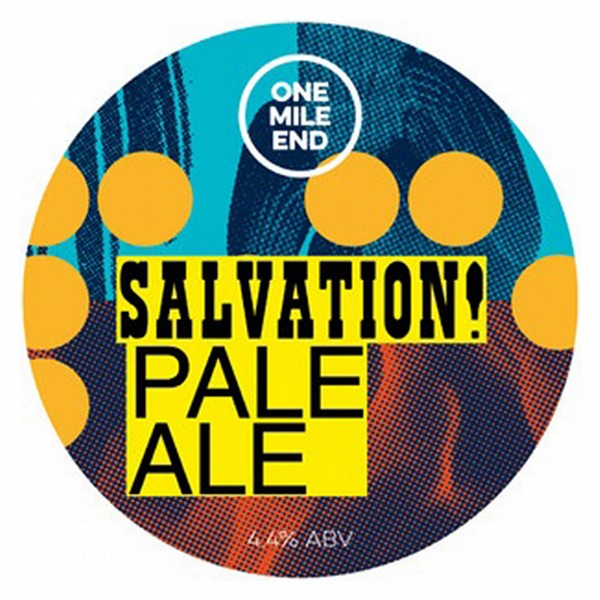 One Mile End Salvation! Pale Ale