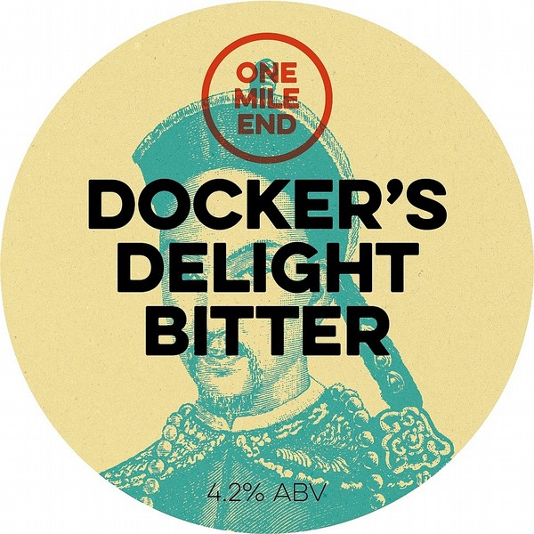 One Mile End Dockers Delight Bitter Cask