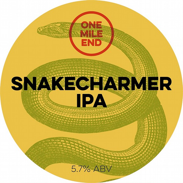 One Mile End Snakecharmer IPA Cask