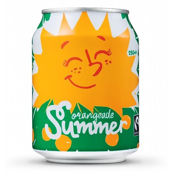 Karma Cola Orangeade Summer Cans