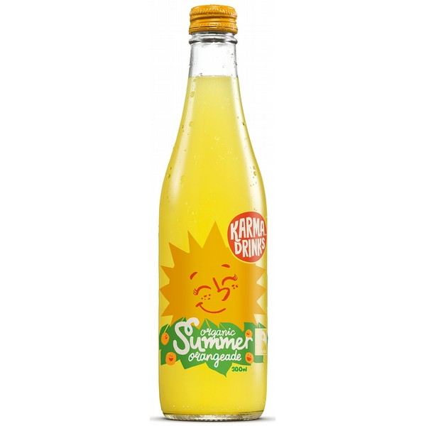 Karma Drinks Orangeade Summer