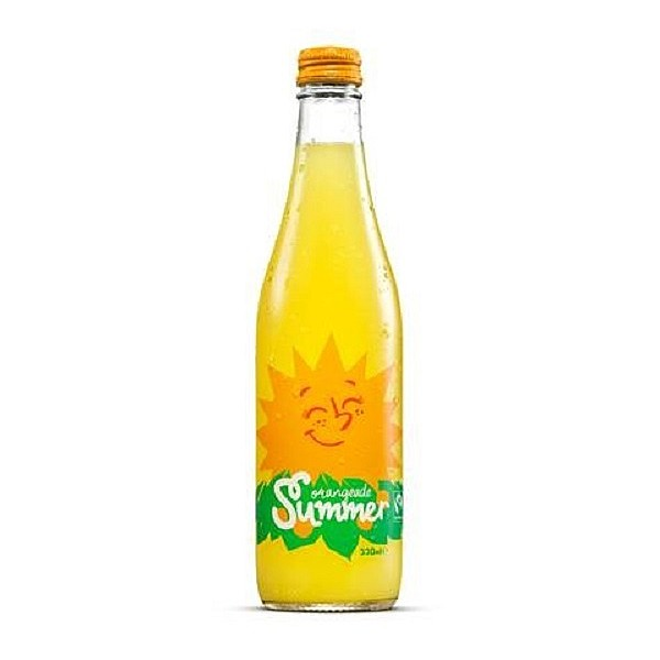 Karma Cola Orangeade Summer FairTrade