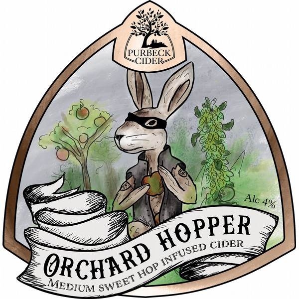 BIB Purbeck Orchard Hopper  Cider