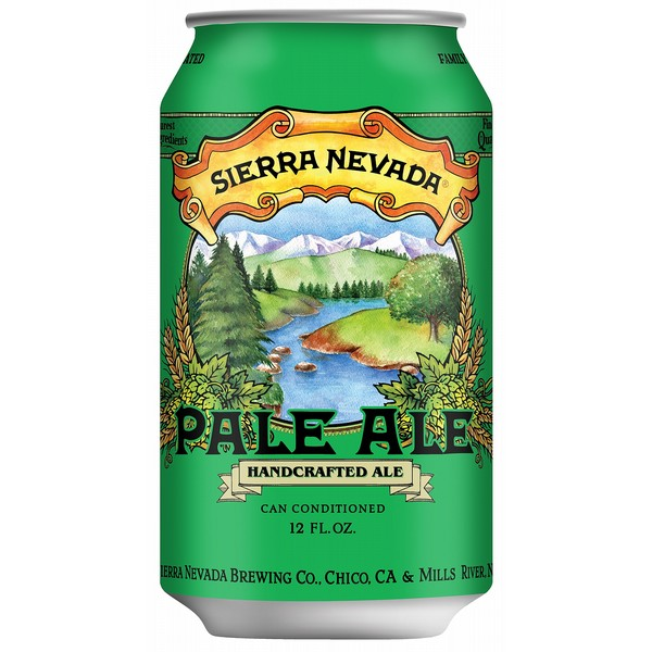 Sierra Nevada Pale Ale Cans