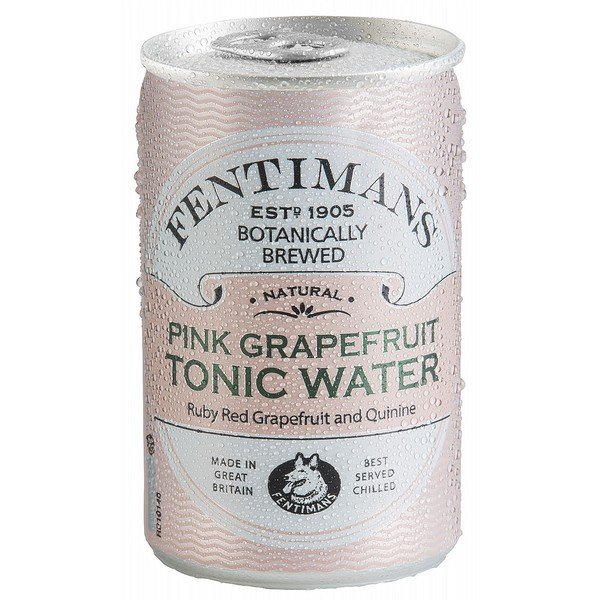 Fentimans Pink Grapefruit Tonic Cans