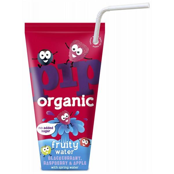 Pip OrganicB/CurrantRasp&Apple FruityWater