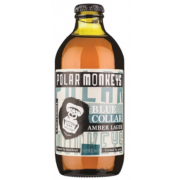 Polar Monkeys Blue Collar Amber Lager
