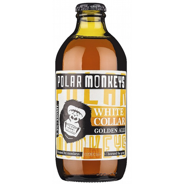 Polar Monkeys White  Collar Golden Ale
