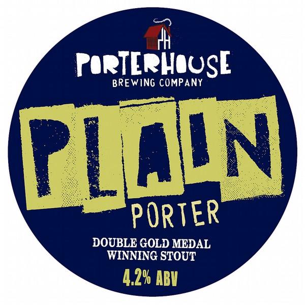 Porterhouse Plain Porter RoundFishEyeBadge