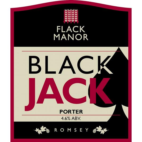 Flack's Black Jack Porter Pump Clip